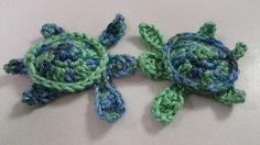 Sea Turtle Appliqué - free crochet pattern by Kristin Jacobs