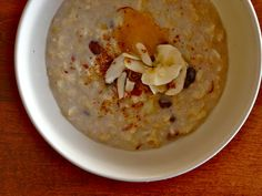 vata-pacifying spiced oatmeal