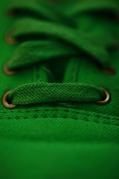 Green Sneaker by Pink Sherbet Photography, via Flickr