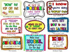 "STATE TESTING WEEK: ""SWEET"" NOTES FOR STUDENTS! - TeachersPayTeachers.com"