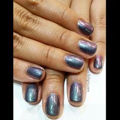 Gel manicure with Essie gel in Twill Seeker