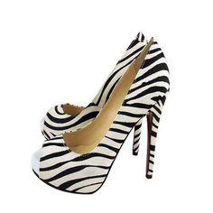 I really need these. Zebra Louboutins