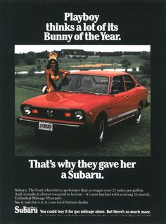1974 - Subaru Coupé   http://www.autorevue.at/autowerbung/1974-subaru-coupe.html