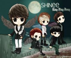 Chibi of shinee.