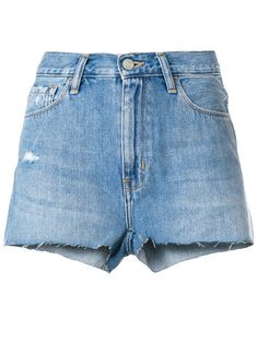 classic denim shorts - women - Cotton/Polyester - 24, 25, 26, 27, 28, 29 - BLUE Carhartt, Denim Shorts, Classic, Cotton, Blue, Women, Fashion, Derby, Moda