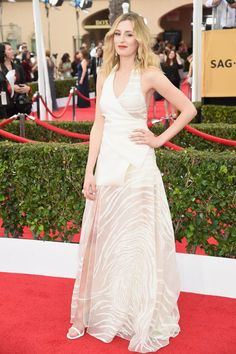 Pin for Later: See All the Stars on the SAG Awards Red Carpet! Laura Carmichael