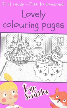 Download 25 beautiful colouring pages in ready to print format for free! Print Format, Colouring Pages, Scribble, Diagram, Words, Free, Color, Beautiful, Quote Coloring Pages