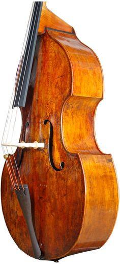 Venetian Violone / Double Bass circa 1650 - as a building Custom Bass Guitar, Guitar Shop, Violin Family, I Love Bass, Piano, All About That Bass, Bass Amps, Double Bass, Oboe