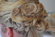 Gorgeous wedding hair by Renaissance