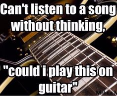 Guitarist problems..