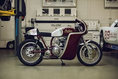 Analog Indian MC CONTINENTAL SCOUT