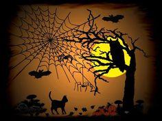 'Halloween Nacht' von artkszp bei artflakes.com als Poster oder Kunstdruck $16.63