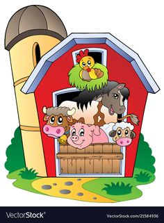 Farm activities for preschool and kindergarten aged children. Farm Animals Preschool, Preschool Themes, Farm Unit, Farm Pictures, Farm Projects, Science Projects, Farm Activities, Kindergarten Age, Farm Crafts