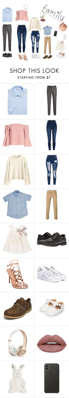"""""""Family"""" by slayalldaydope ❤ liked on Polyvore featuring beauty, Charvet, Joseph, Topshop, River Island, French Toast, Dsquared2, Steve Madden, Madden Girl and adidas Originals"""