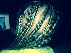 More braids Braids, Dreadlocks, Hairstyles, Beauty, Haircut Designs, Beleza, Cornrows, Dreads, Pigtail Hairstyle