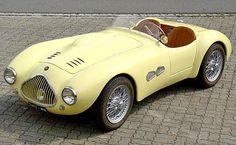 1953 Fiat 500 Graziani MM Barchetta | More here: http://mylusciouslife.com/stylish-home-luxury-garage-design/
