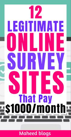 Earn Money Online Fast, Make Money Fast Online, Make Money Blogging, Make Money From Home, Online Survey Sites, Online Surveys That Pay, Survey Sites That Pay, Make Side Money, Make Quick Money