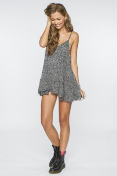 Grace Backless Babydoll Dress - Brandy Melville USA