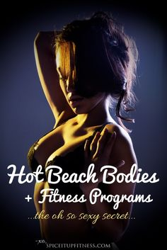 "I'm sure I'm going to catch some heat for writing this… But there are so many ""sexy"" sounding exercise programs, and just about all of them have inspiring testimonials and (at least on the surface) seem to have a solid foundation – how do you know which ones work and which ones don't? Here's a secret. ( Click pin for more)."