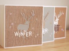 handmade by margaretha: Winter {3x}
