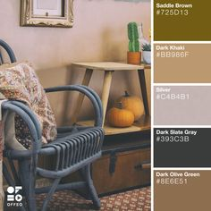Looking Forward to Autumn: 25 Gorgeous Color Palettes to Inspire You