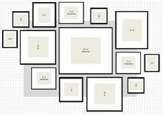 photo frame arrangement