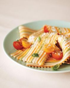 Pasta gets the striped treatment; the bright hues are from flavor-packed veggies.http://www.italianharvest.com/product/marella-pasta-puglia-organic-colorful-plaid-lasagna