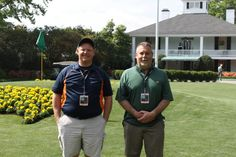 My and buddy Scott at the Masters 2015.