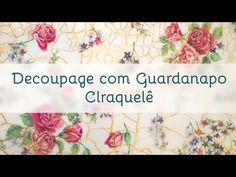 Mulher.com 09/01/2015 Rose Rodriguues - Garrafão de vidro com decoupagem Parte 2/2 - YouTube