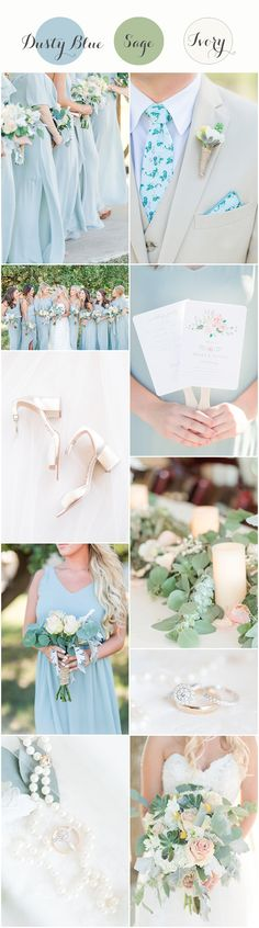 Dusty blue wedding colors | Dusty blue and sage wedding | Sage wedding | dusty blue bridesmaid dresses | powder blue bridesmaid dresses | powder blue wedding | style me pretty wedding | greenery wedding | greenery wedding bouquet | dusty miller bouquet | knotty tie | Sam Edelman | Show Me Your Mumu bridesmaid dresses | eucalyptus | light blue wedding | organic blue wedding | A Dusty blue Wedding with greenery at CW Hill Country Ranch in Boerne, Texas 0184
