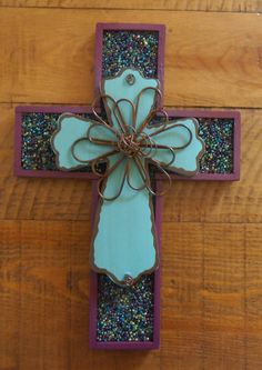 Spring Cross by Windychimes on Etsy, $33.00