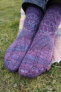 This sock pattern brings together some