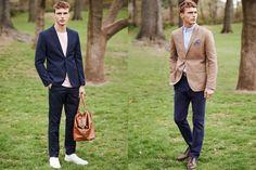 H&M August 2014 Style Guide Men's Lookbook | FashionBeans.com