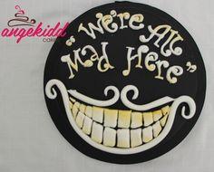 Cheshire Cat Cake By Ange Kidd Cakes