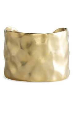 Nordstrom 'Gold Water' Textured Cuff | Nordstrom - StyleSays