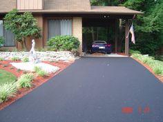blacktop driveways | Asphalt Driveway, SO HAPPY we are getting a driveway! No more ruts and mud. --Granny