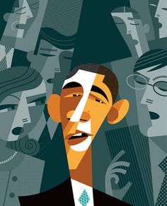 Chicquero Blog > Pablo Lobato graphic design illustration - obama