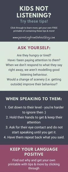 Kids not listening? Your kids will listen if you use these two strategies. Great positive parenting strategies for parents with young kids, toddlers, and preschoolers. parenting Your Kids Will Listen if You do THIS Discipline Positive, Education Positive, Kids Discipline, Positive Reinforcement Kids, Physical Education, Kids And Parenting, Parenting Hacks, Parenting Classes, Parenting Plan