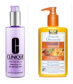 I used Clinique's take the day off cleansing milk throughout high school, and I loved it's ability to emulsify the skin and lift out all the impurities while leaving my skin moisturized and clean. There are two cleansing milks in the drugstore that I'm aware of, one from Yes to Cucumbers and one from Avalon Organics. I love the Avalon Organics cleansing milk because of the addition of Vitamin C, lemon bioflavanoids and white tea, which they claim will help fight stress and help with…