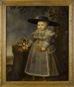 Willem van der Vliet, Portrait of a boy, 1638 - Het Rijksmuseum Amsterdam
