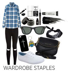 """Wardrobe Staples!!"" by av-anul ❤ liked on Polyvore featuring moda, Uniqlo, Michael Kors, Keds, Casetify, Ray-Ban, ASOS, Napoleon Perdis, Urban Decay y Uslu Airlines"