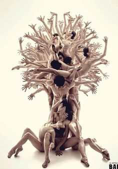 The tree of life photo by Roman Shatsky.Sakartvelo ballet Dance your soul by Catherine LA Rosa Human Tree, Foto Poster, Dance Movement, Dance Poses, Lets Dance, Dance Pictures, Dance Photography, Travel Photography, Conceptual Photography