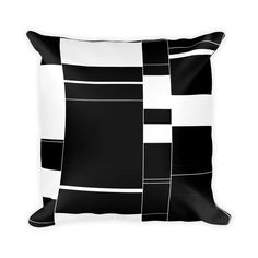 Minimal BarCode Pillow by DudesGoods on Etsy