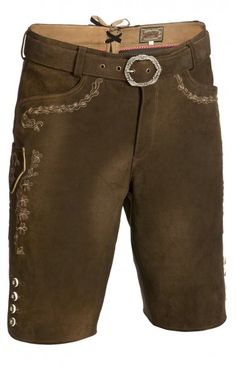 Traditional leather trousers Frank moor brown