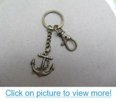 The Ship Submarine Keychain the Ship Submarine Anchor Key Ring with Swivel Clasp Keychain Anchor Rings, Key Rings, Ship, Personalized Items, Key Fobs, Ships