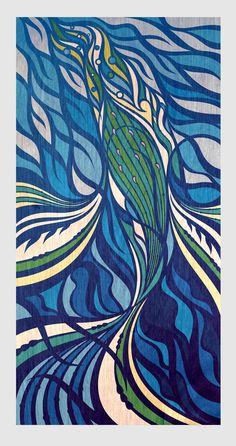 Kaitiaki o Tohora — Shane Hansen Boat Decor, I Am Always, Beautiful Wife, Pattern And Decoration, Sculpture, Prints, Inspiration, Painting, Design