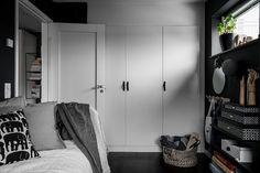 Необычный шведский интерьер в темной гамме   Пуфик - блог о дизайне интерьера