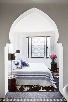 What do you think of this Moroccan style bedroom?