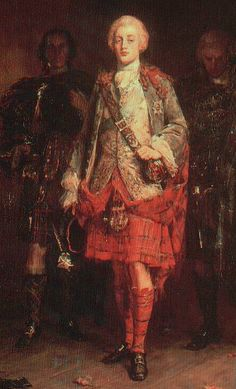 "Charles Edward Stuart, the ""bonnie Prince"""