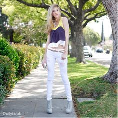 Color blocking tops!!